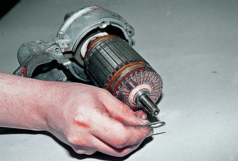 Ваз 2111 ремонт стартера своими руками видео