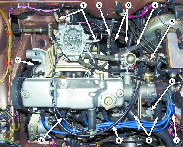 Двигатель змз 406 схема фото 743
