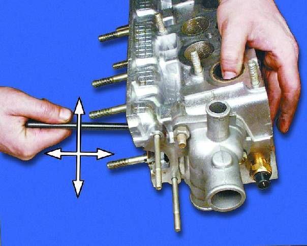 Как сделает клапаны ваз 2109 371