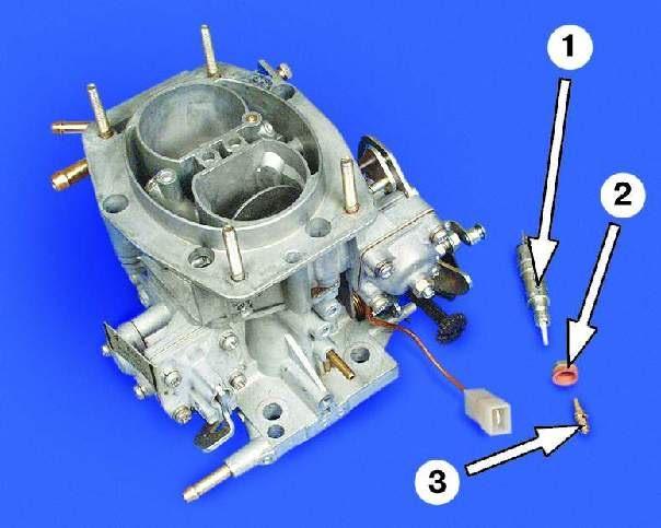 1 – электромагнитный клапан