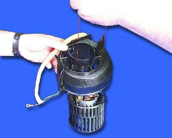 Ремонт моторчика печки ваз 2109