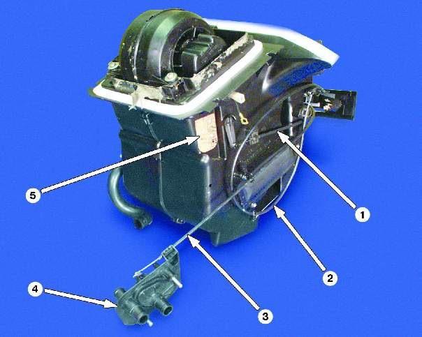 Ваз 2109 печка схема отопителя