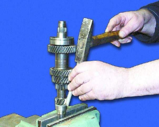 Замена подшипника первичного вала ваз 2109 своими руками