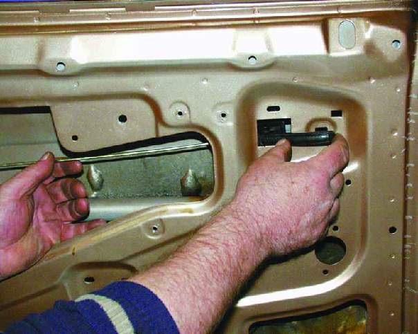 Устройство замка двери ваз 2109