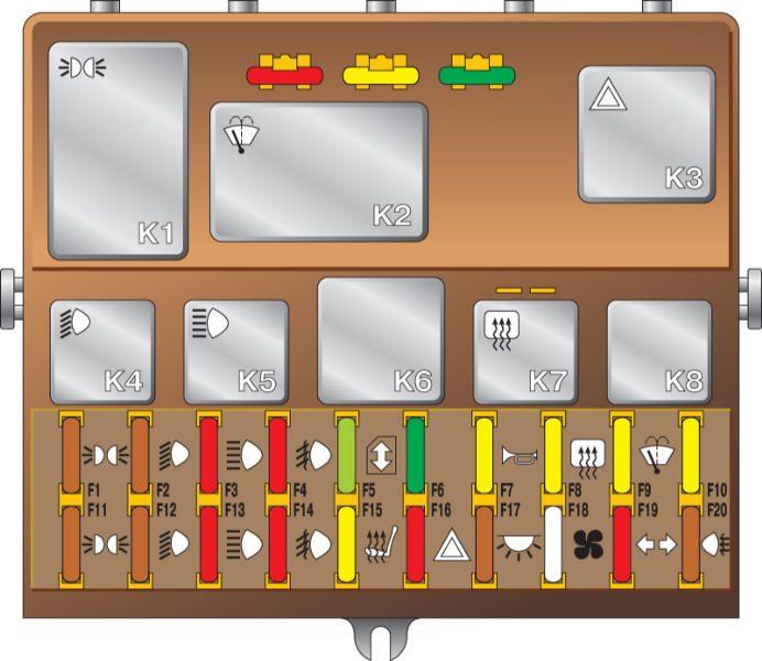 Предохранитель генератора ваз 2110