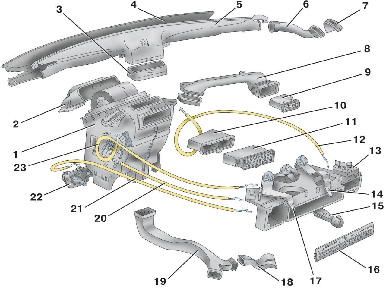 2109 схема печки