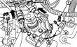 Элементы управления коробки передач Дэу Матиз