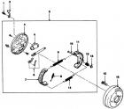 Замена задних тормозных колодок Дэу Матиз