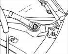 Двигатель стеклоочистителя лобового стекла Хендай Акцент