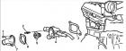 Термостат Хендай Акцент для двигателя DOHC