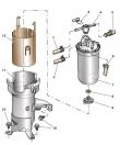 Замена топливного фильтра Шкода Фабиа