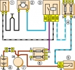 Электровентилятор системы охлаждения двигателя Ваз 2106