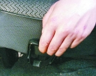 Как отрегулировать переднее сидение на Ваз 2109