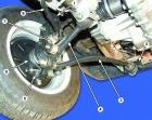 Замена передних амортизаторов Ваз 2109