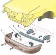 Замена переднего бамперов Ваз 2115 / 2114