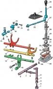 Механизм переключения передач Фольксваген Гольф 2