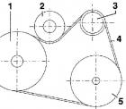 Замена ремня генератора Фольксваген Гольф 4