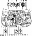 Система управления двигателем Фольксваген Пассат B5 1,8