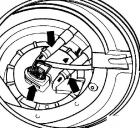 Топливный насос с датчиком уровня топлива Фольксваген Пассат B5