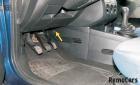Замена салонного фильтра Форд Фиеста 5