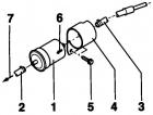 Топливный фильтр Фольксваген Пассат Б5 бензин