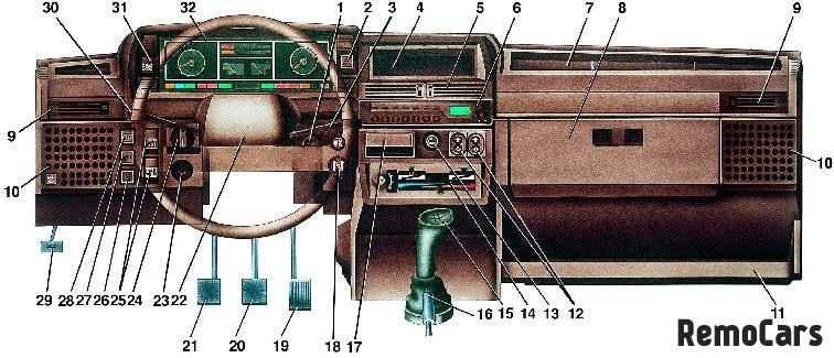 ваз 2109 (Высокая панель):