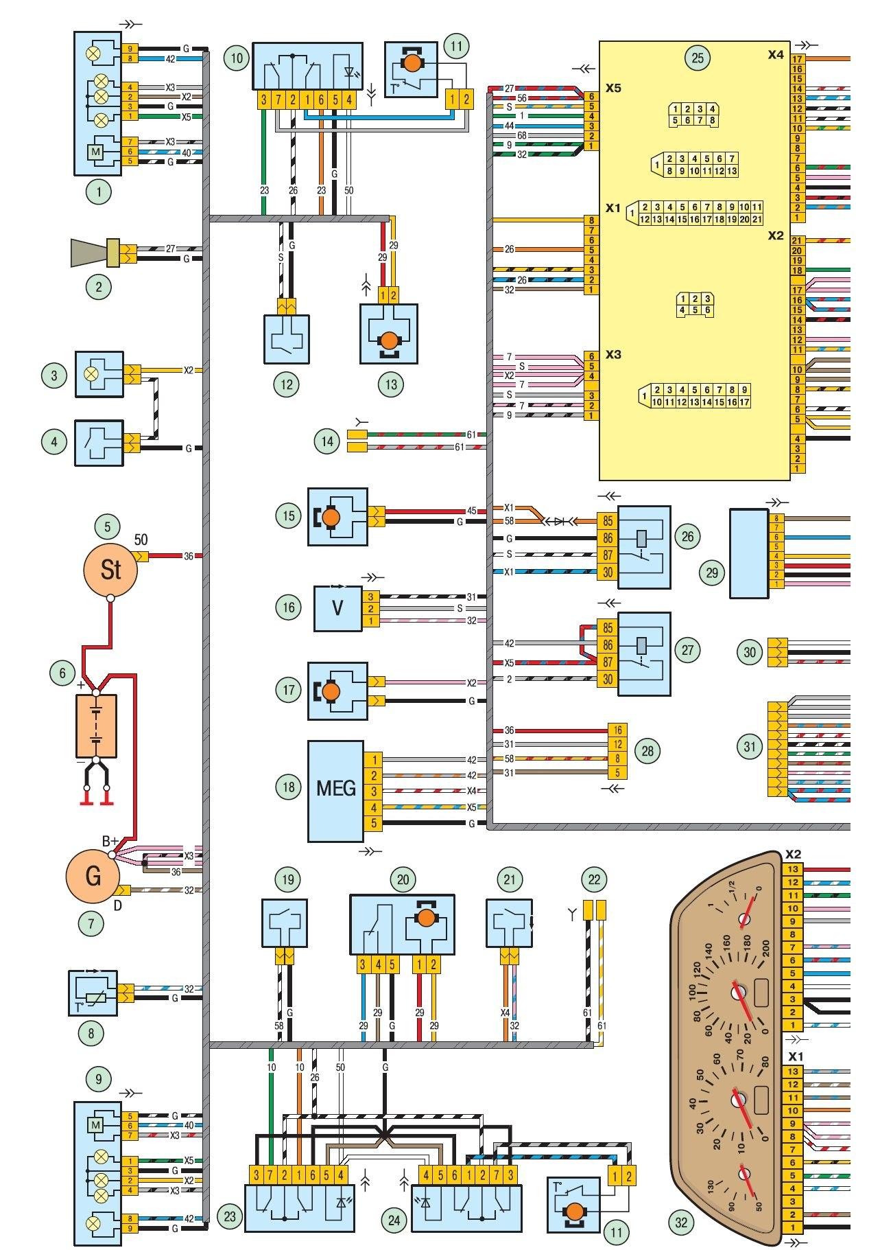 Схема подключения стартера нива шевроле фото 60